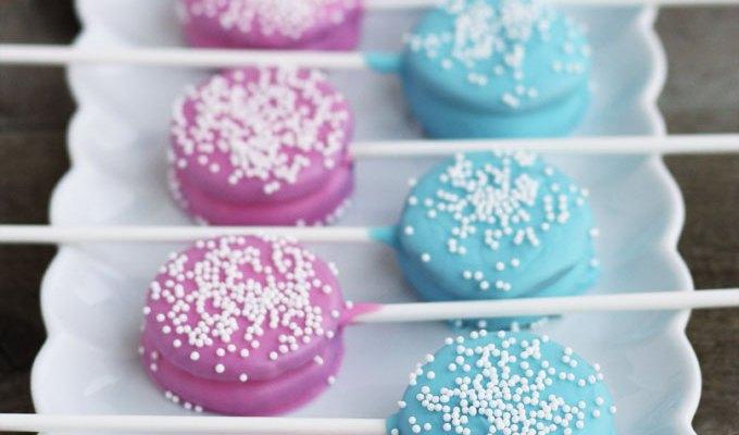 Pink & Blue Baby Shower Oreo Pops