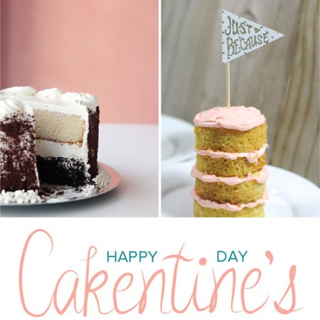 cakentines day how to frost a cake