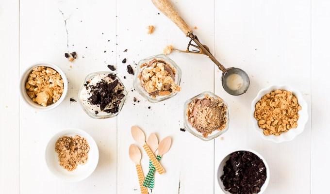 Ice Cream & Cookie Parfaits