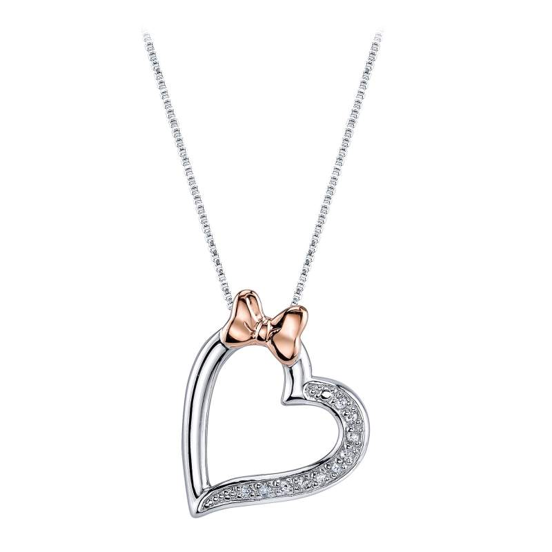 Large Of Diamond Heart Necklace