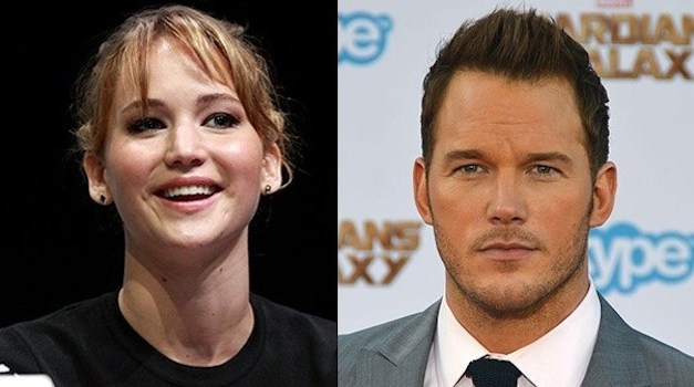Jennifer Lawrence and Chris Pratt Team Up for New Movie 'Passengers'