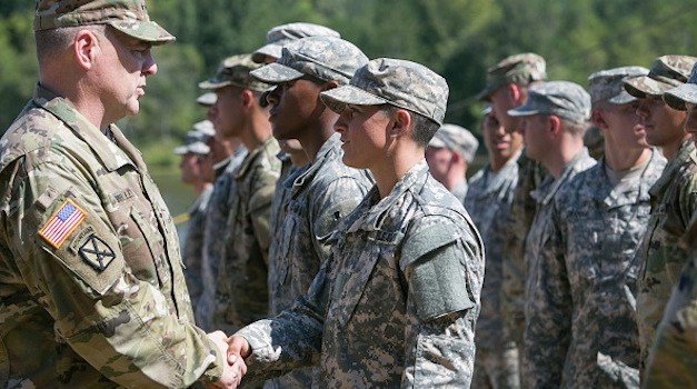Army Announces First Female Infantry Officer to Command Troops in Battle