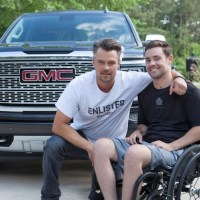 Josh Duhamel Partners with GMC to Give Wounded Veterans a New Home