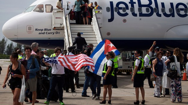 First American Flight In 50 Years Lands In Cuba