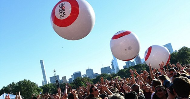 Thousands Attend Global Citizen Festival in NYC To Support Refugees Globally