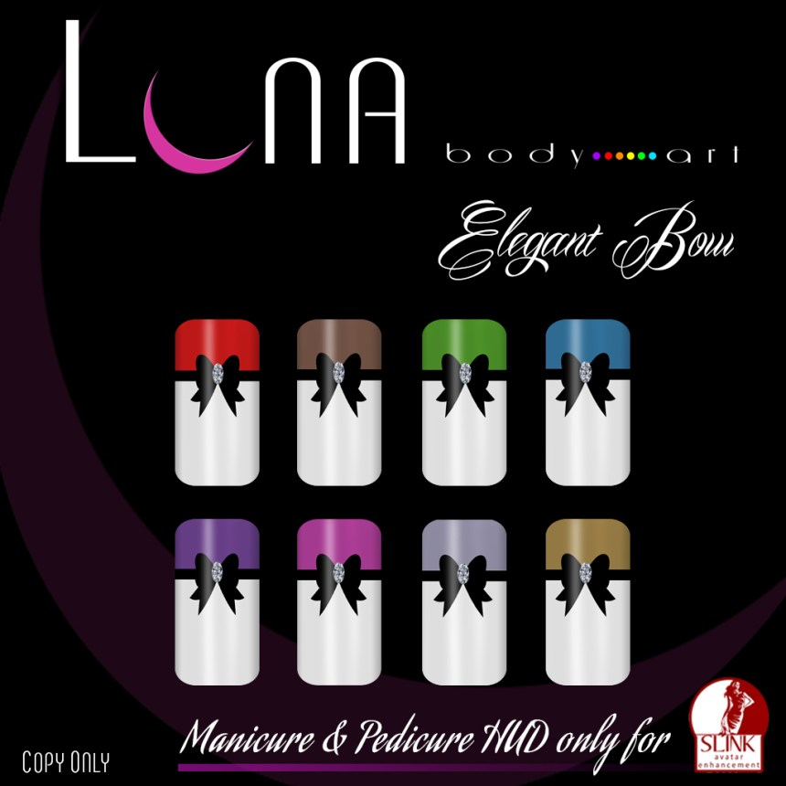LUNA Body Art - Set Elegant Bows