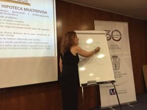 María José Lunas. Directora del curso. ICAM. Hipoteca Multidivisa.