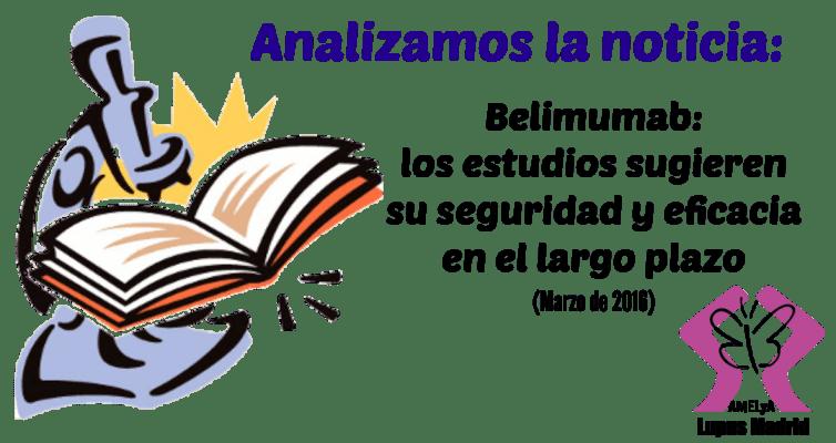 Estudios Belimumab Seguridad largo plazo