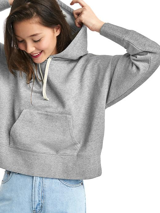 Gap The Archive Re-issue Crop Hoodie