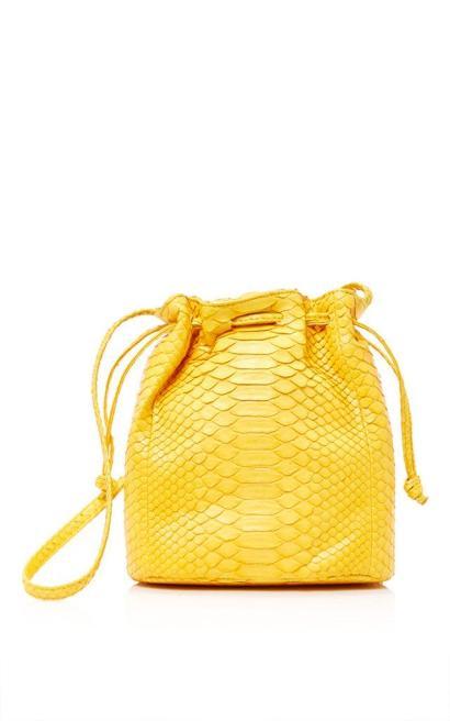 Hunting Season Python Bucket Bag