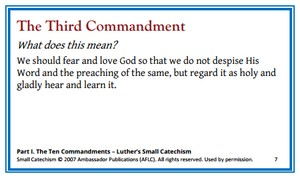 AFLC -- Ambassador Publications Version of Small Catechism Memory Cards