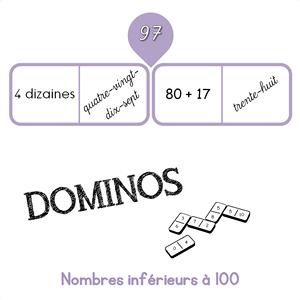 dominos nombres inférieurs à 100