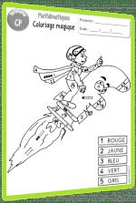 coloriages magiques maths autonomie CP