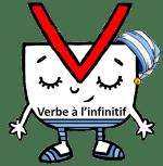 personnages de grammaire verbe infinitif
