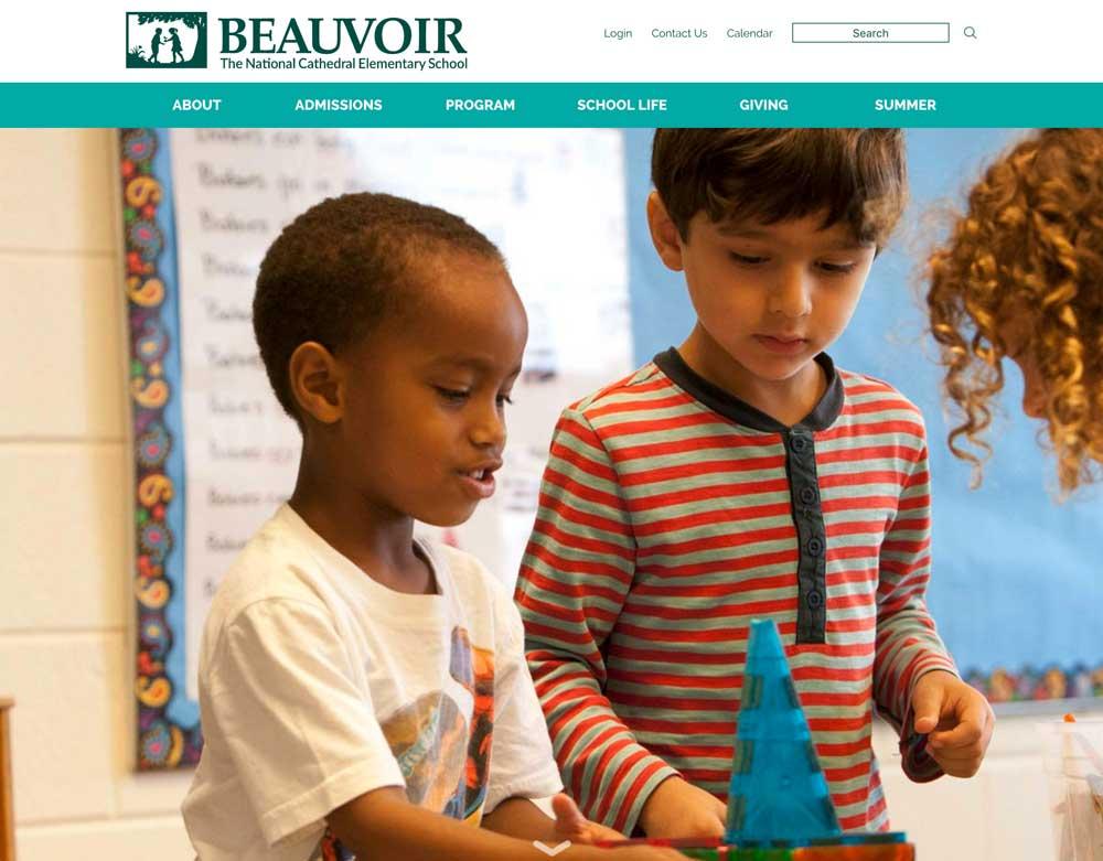 Beauvoir School Website