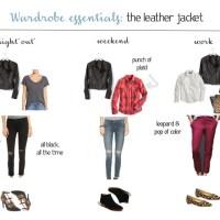 Wardrobe Essentials: The Leather Jacket