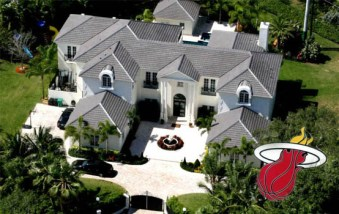 N°5 : Dwyane Wade Mansion et sa villa à 8,4M$