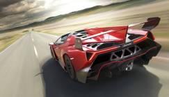 Arrière de la Veneno Roadster