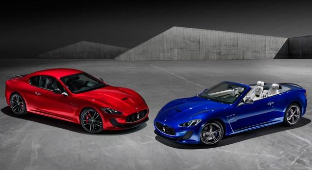 Maserati GranTurismo MC Stradale Centennial : Une édition spéciale pour les 100ans de la marque