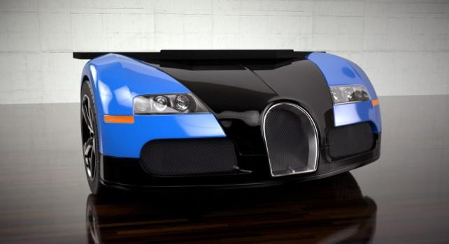 Design Epicentrum Bugatti Veyron Desk : Un bolide en guise de bureau
