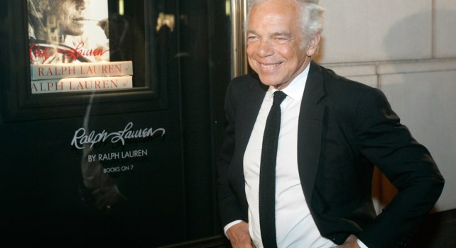 Ralph Lauren quitte la direction opérationnelle de son empire