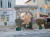 Entrance to Old Saint Remy