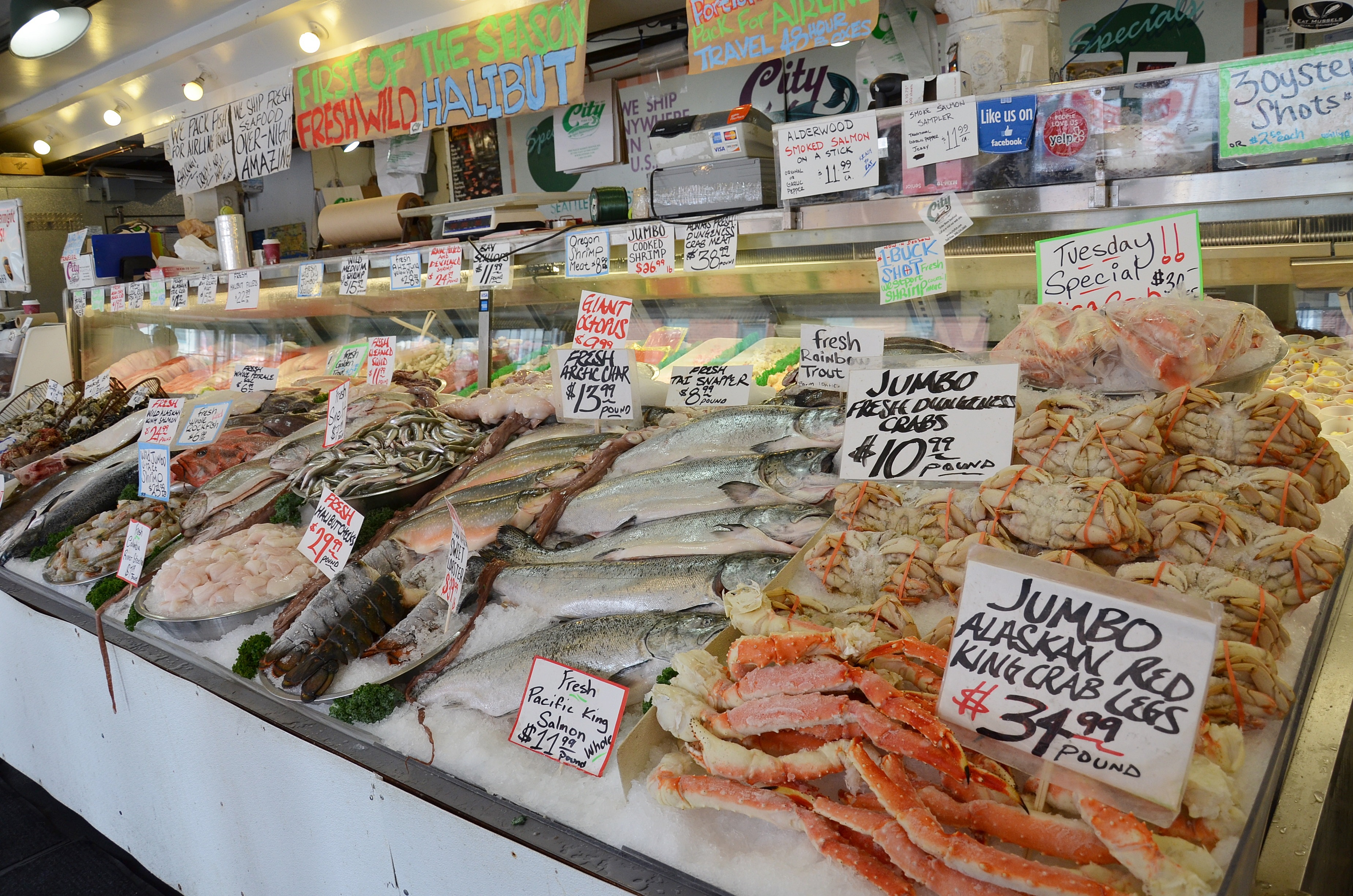 Going green in the emerald city for Pike place fish market video