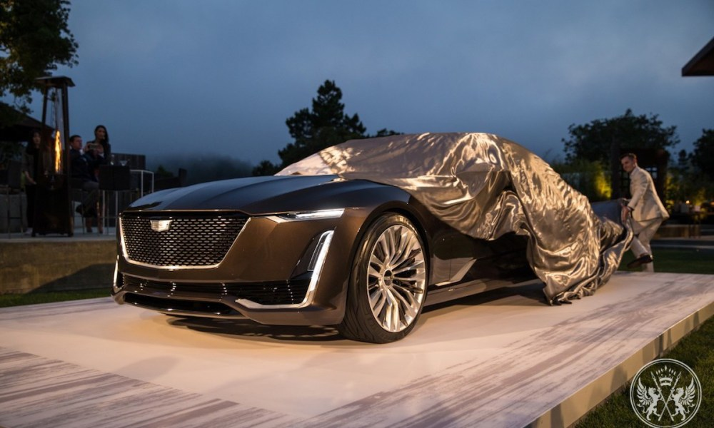 The Escala Concept Brings Out The Next Evolution Of Cadillac Design