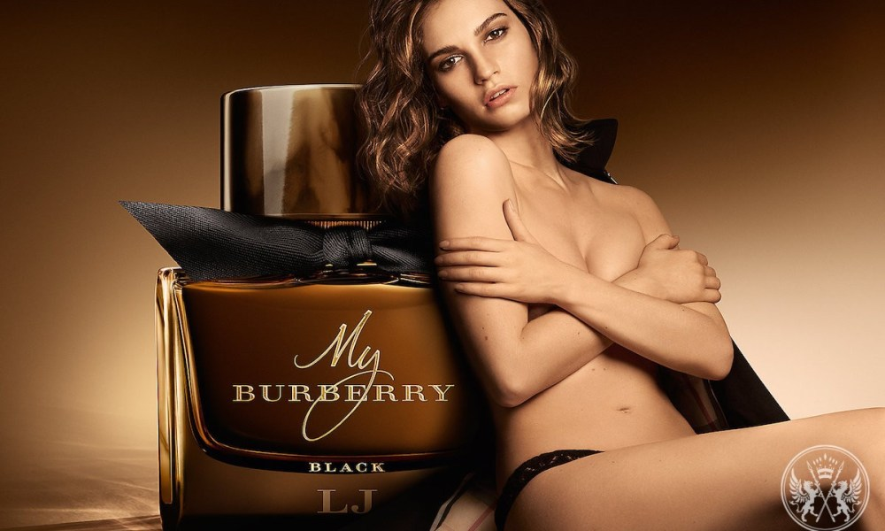 Lily James For My Burberry Black