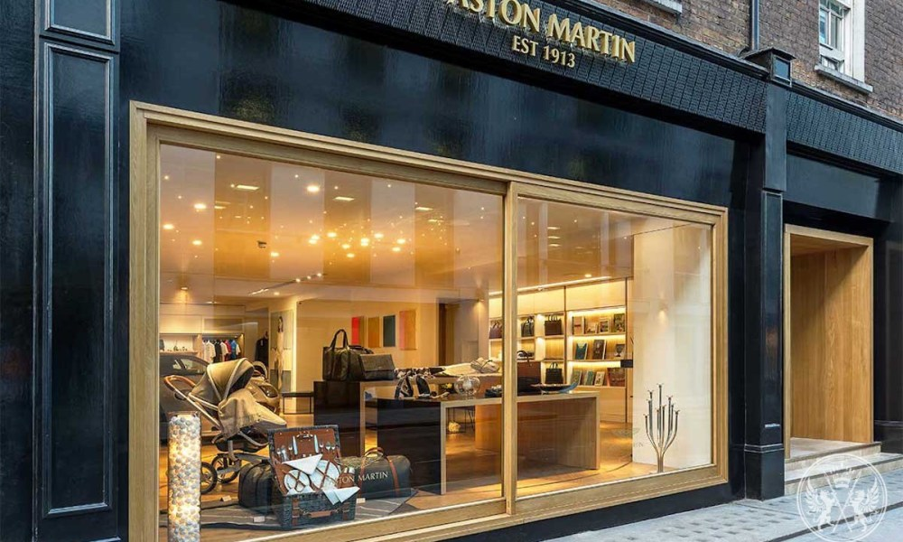 """Aston Martin At No. 8 Dover Street"" Is The British Automaker's First Global Experience Centre"