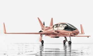 Treat Yourself to a Rose Gold Cobalt Valkyrie-X Private Plane This Christmas