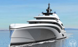 Echo Yachts Has Revealed the 393-foot Trimaran Concept
