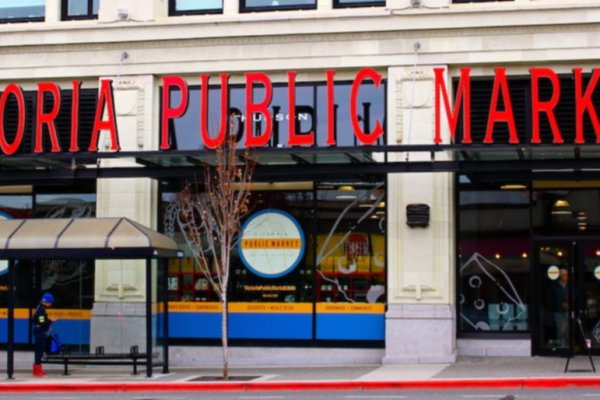 victoria public market trip