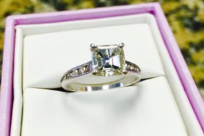 $16,000 Ring But She Said No! Can Be Yours