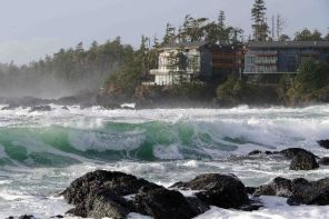 Black Rock Oceanfront Resort In Ucluelet