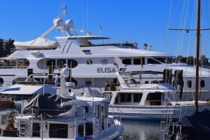 Superyacht Elisa Spotted In Victoria