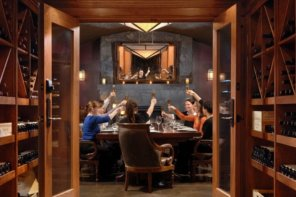 How About Dinner In A BC Wine Cellar?