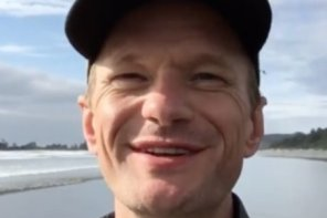 Neil Patrick Harris Tofino Trip Photos