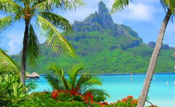 3.Bora Bora, Society Islands of French Polynesia