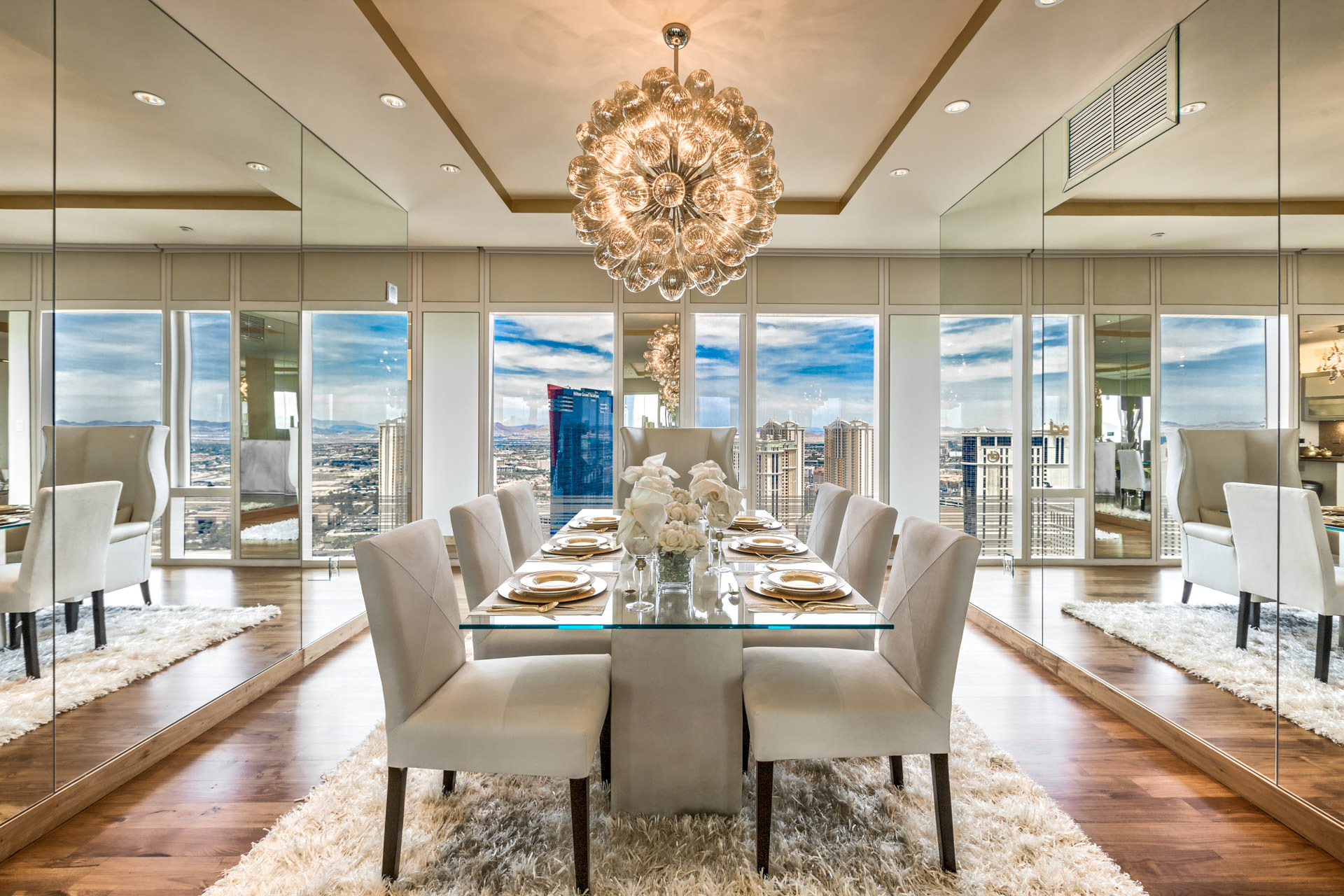 Mandarin Oriental Unit 3308  Luxury Homes Las Vegas
