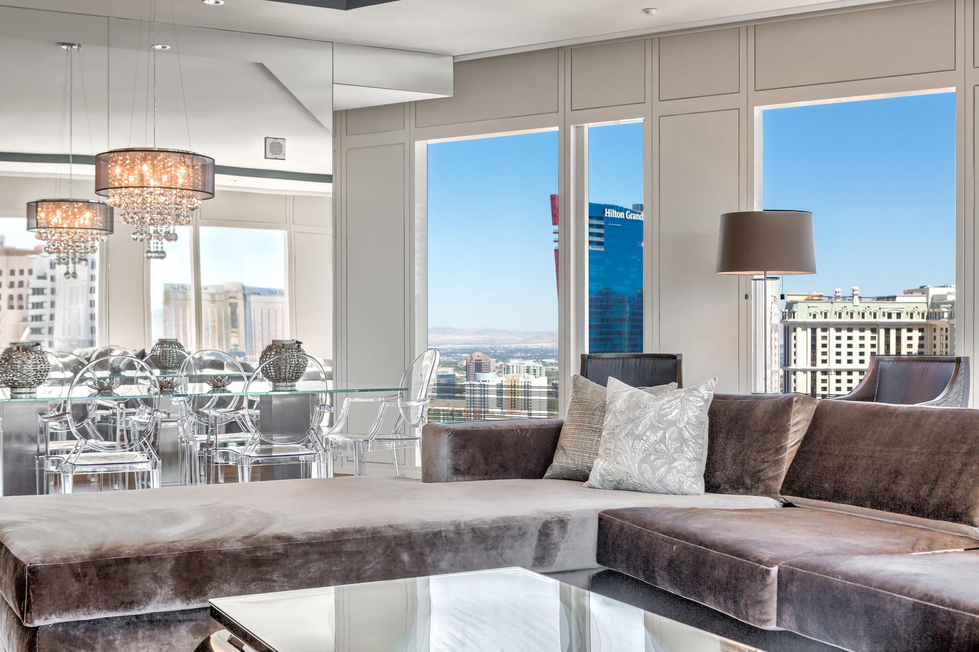 Mandarin Oriental Unit 2704  Luxury Homes Las Vegas