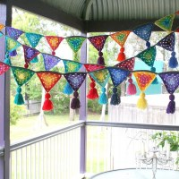 4th of july best crochet bunting