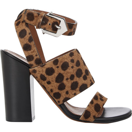 GIVENCHY Animal-Print Ankle-Strap Sandals $1195 now $479