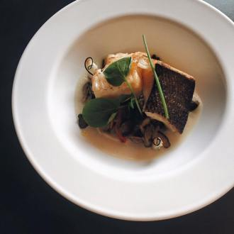 The Primal Gourmet: Chilean Sea Bass with Cured Quail Egg Yolk, LVBX Magazine
