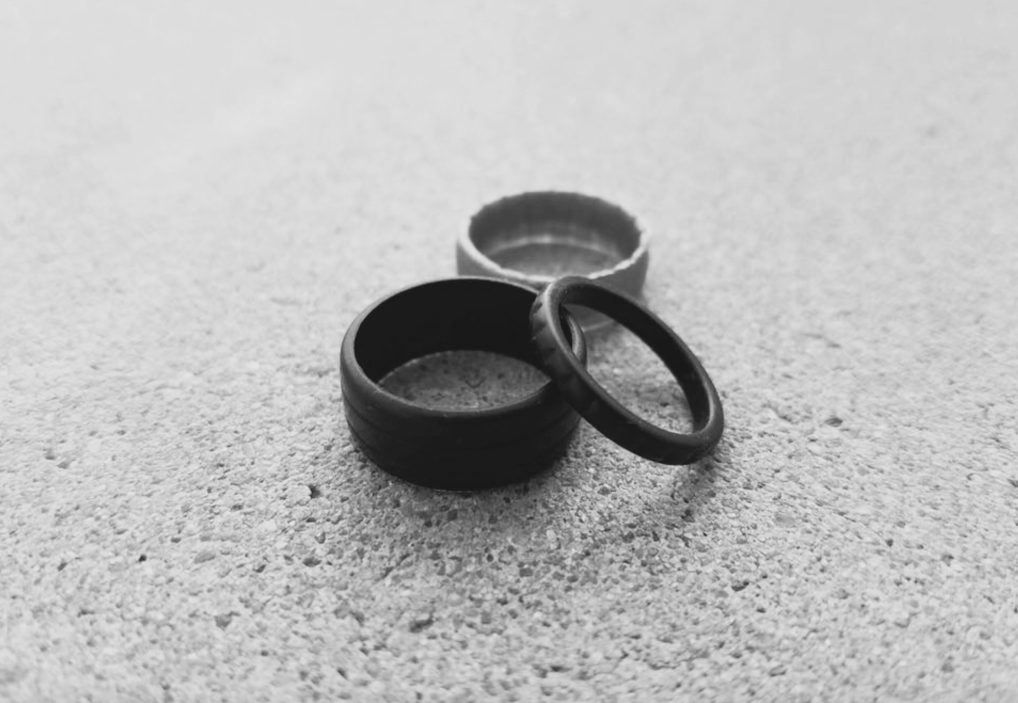 enso rings the alternative wedding ring - Alternative Wedding Rings