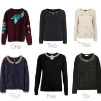 Winter favorites: Embellished sweater
