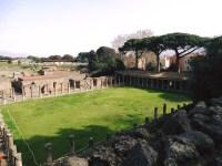 Pompéi, le jardin des théâtres