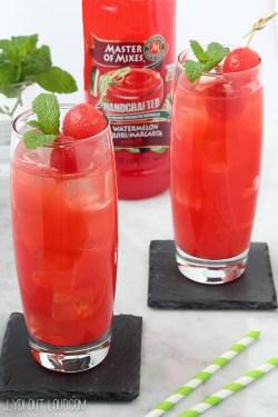 Small Of Watermelon Vodka Drink