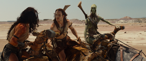 John Carter and Dejah