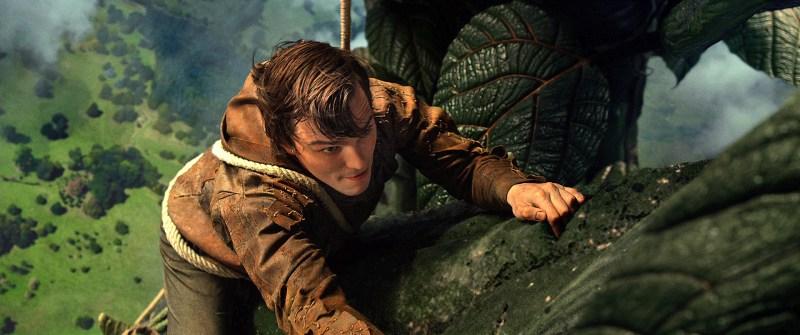 Warner Bros. PicturesJack (Nicholas Hoult) climbs the beanstalk.